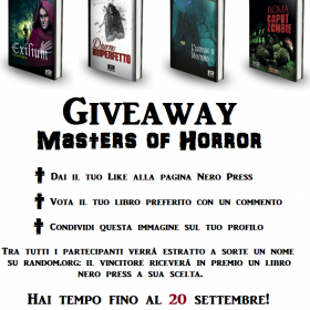 Giveaway Masters of Horror