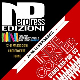 Nero Press nell'Indie Corner al Salone di Torino
