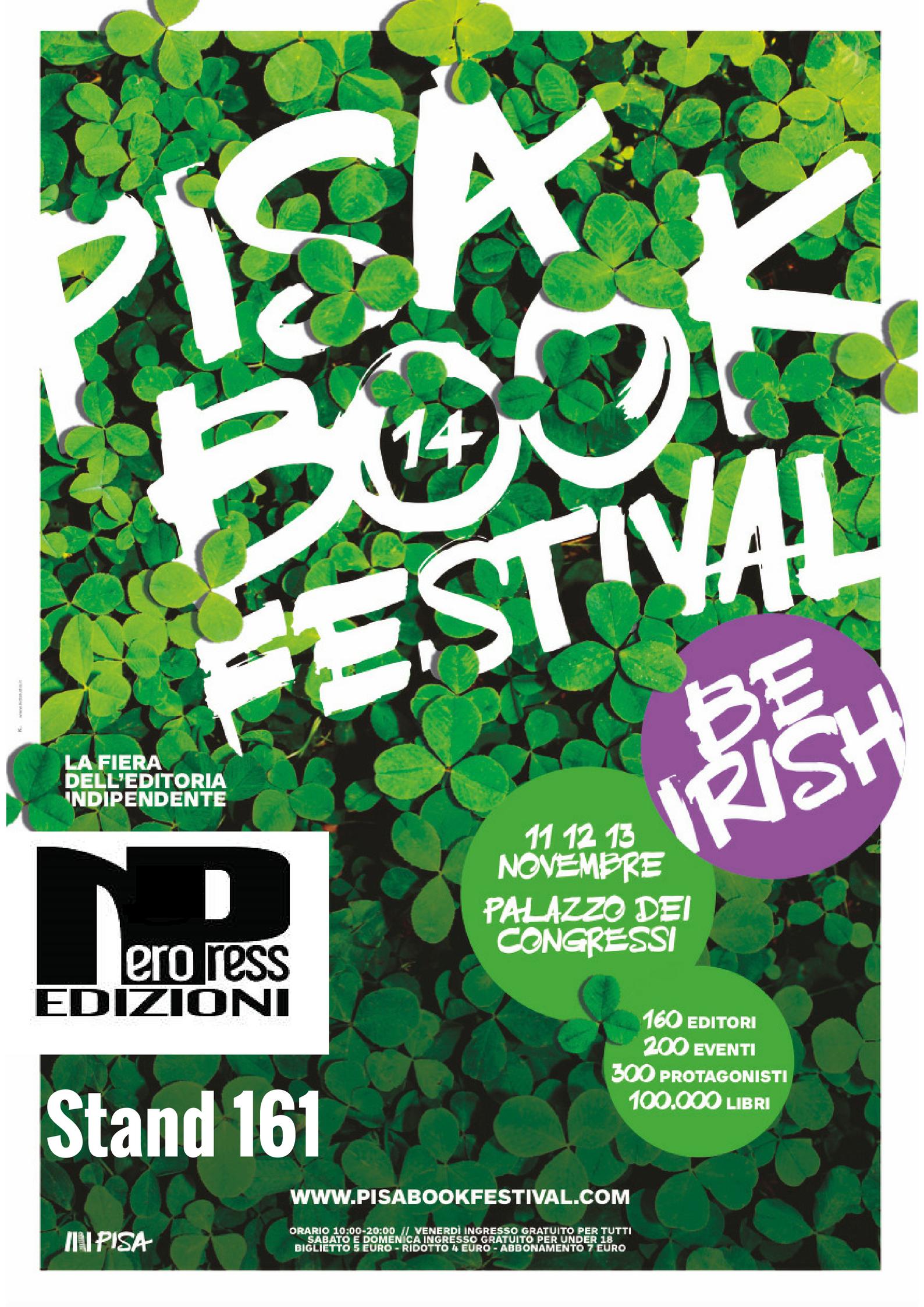 Nero Press al Pisa Book Festival 2016 - Nero Press Edizioni 35eaf23a50b